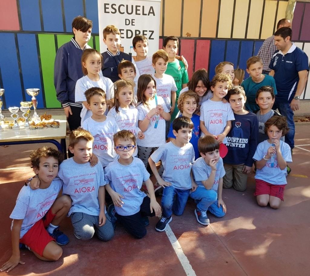 Torneo municipal de ajedrez en el CEP Aiora de Valencia (3)