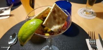 Cocktail Acapulco: Gambas, aguacate y mango