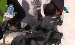 Zoido anuncia una de las mayores incautaciones de heroína registradas jamás en España en una sola intervención