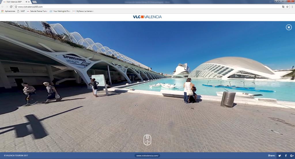 360 - Ciudad Artes y Ciencias