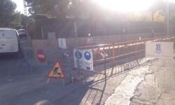 Aigües de l'Horta inicia obras en la calle Pintor Pablo Picasso del Vedat para mejorar el suministro de agua en Torrent.