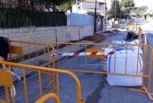 Aigües de l'Horta mejora la calidad y rendimiento de la red de agua potable en la calle Purissima de Torrent.