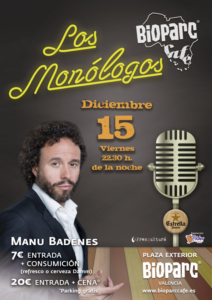 CARTEL MONOLOGO Manu_Badenes