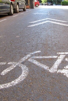 Carril bici.