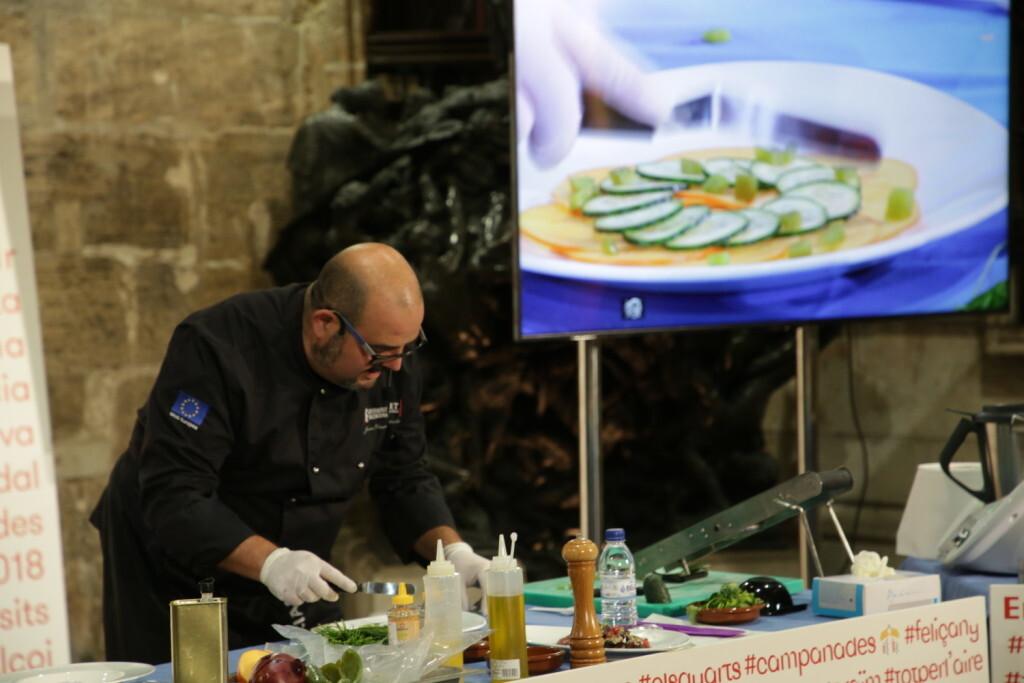 El Palau acoge el 'show cooking' de Joan Clement