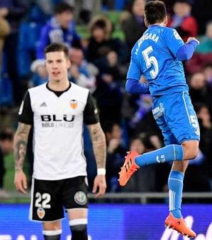 El Valencia no pudo remontar el partido.
