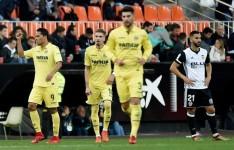El Villarreal vence al Valencia por la mínima (0-1).