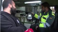 El video viral que arrasa se presentó como voluntario a un test de drogas en la vía pública y dio positivo Infobae