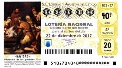 LOTERIA DE NAVIDAD SORTEO 2017