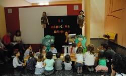 La Biblioteca del Museu de Prehistòria de València acerca a los niños a los poblados íberos.