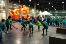 La Concejalía de Sanidad, Salud y Deportes dedica un pabellón entero a las actividad deportivas y los hábitos saludables en Expojove