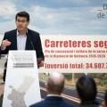 La Diputació invertirá 35 millones de euros en 3 años en conservación para tener unas carreteras más seguras.