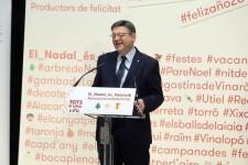 La Generalitat lanza la campaña 'El Nadal és Valencià' para promocionar los productos locales durante las fiestas navideñas.