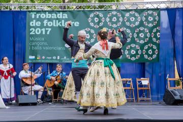 La Trobada de Folklore de la Diputació cierra con dos conciertos corales en el Palau de les Arts.