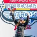 Los pilotos becados por la Diputación de València triunfan en la Nascar europea.