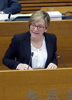 María José Salvador. Consellera de Vivienda.