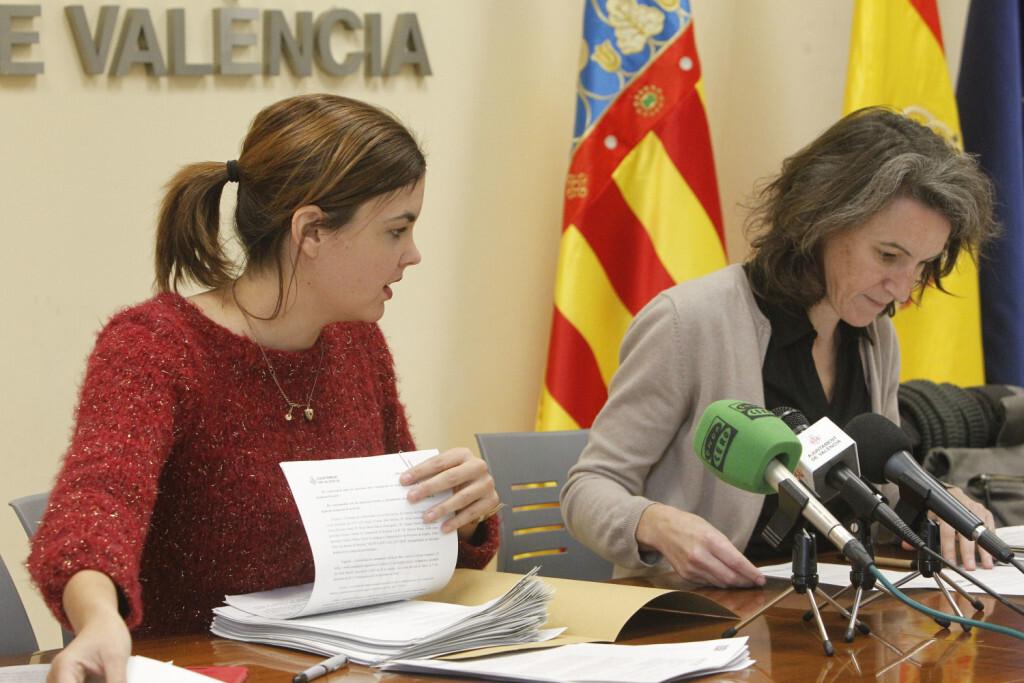 Sandra Gomez y Oliver, dan cuentas sobre reunion del grupo municipal