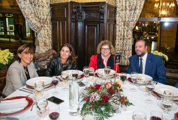 Pequeño Deseo, Asindown y Aspanion, que hicieron cena en el Casino para recaudar fondos para las 3, unidas por Mediolanum Aproxima (62)