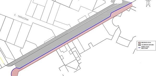 Plano de la calle Literat Gabriel Miró.