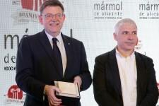 Puig anuncia una reunión con representantes del sector del mármol para diseñar un plan conjunto que dé estabilidad a la empresas.