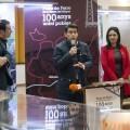 """Rodríguez """"Los puentes de hierro de La Ribera y la Diputació llevan más de 100 años uniendo pueblos y personas""""."""