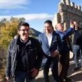 Rodríguez avanza que la rehabilitación del Castillo de Corbera se iniciará en 2018 tras los importantes hallazgos arqueológicos.