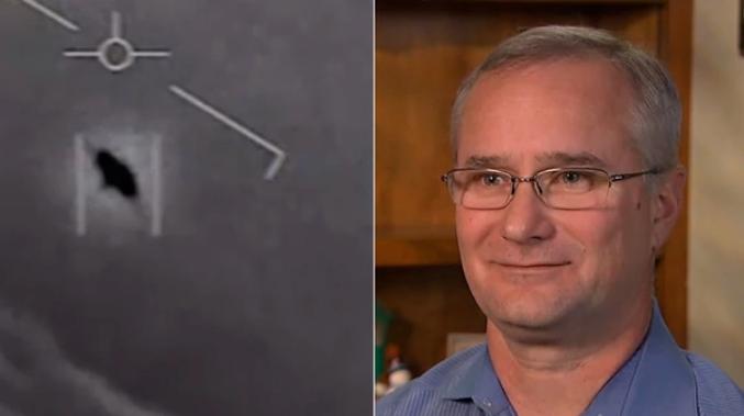 Rompió el silencio el piloto de la Armada de Estados Unidos que tuvo un encuentro con un OVNI