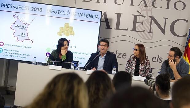 Rosa Pérez Garijo, Jorge Rodríguez, Mª Josep Amigó y Roberto Jaramillo.