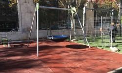Se abre al público la nueva zona de juegos del Centro Cultural y Deportivo de Abastos.