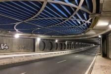 Se renueva la iluminación del túnel de Peset Aleixandre.