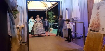Solemne acto de Presentación exaltacion de las Falleras Mayores de la falla de la Mercé 20171202_204659 (1)