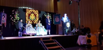 Solemne acto de Presentación exaltacion de las Falleras Mayores de la falla de la Mercé 20171202_204659 (11)