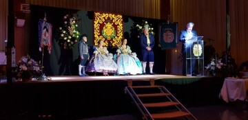 Solemne acto de Presentación exaltacion de las Falleras Mayores de la falla de la Mercé 20171202_204659 (12)