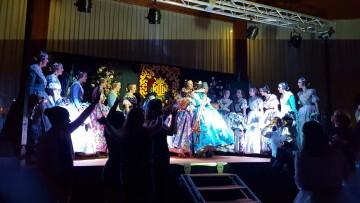Solemne acto de Presentación exaltacion de las Falleras Mayores de la falla de la Mercé 20171202_204659 (22)
