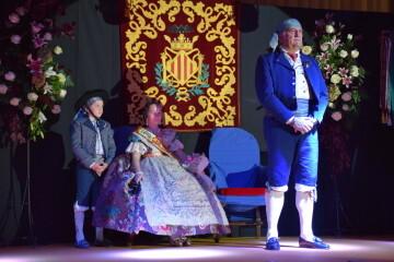 Solemne acto de Presentación exaltacion de las Falleras Mayores de la falla de la Mercé 20171202_204659 (46)