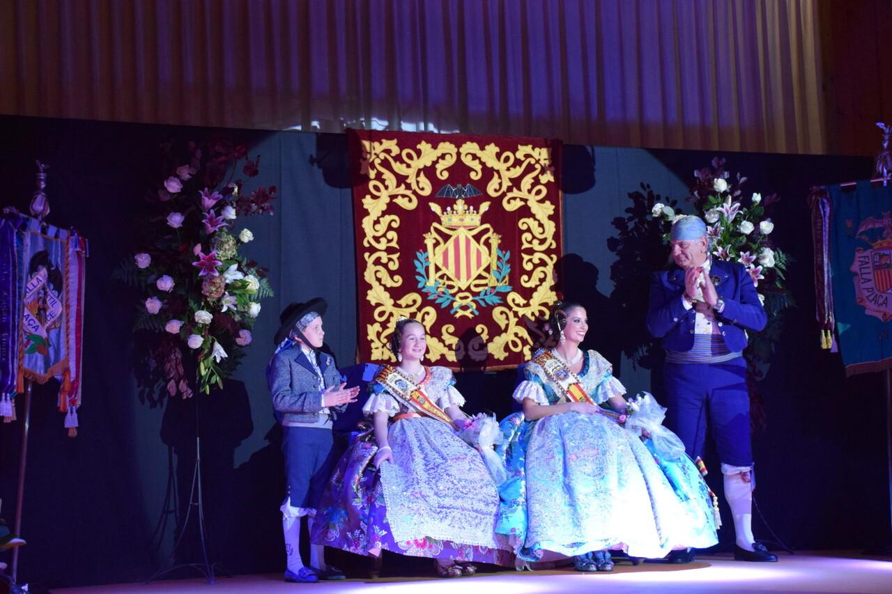 Solemne acto de Presentación exaltacion de las Falleras Mayores de la falla de la Mercé 20171202_204659 (48)