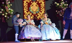 Solemne acto de Presentación exaltacion de las Falleras Mayores de la falla de la Mercé 20171202_204659 (58)