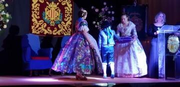Solemne acto de Presentación exaltacion de las Falleras Mayores de la falla de la Mercé 20171202_204659 (6)