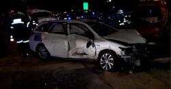 Un conductor ebrio causó dos accidentes de tráfico con cinco heridos en la Gran Vía de Germanías (4)