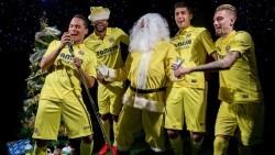 ¡El Villarreal canta para felicitarte la Navidad!
