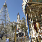 Associació de Comerciants del Centre Històric en Nadal Pista de gel, Carrusel dels Comerciants y Tren