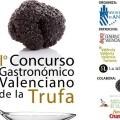 """""""Del Tros al Plat"""" 2018 arranca con el I Concurso Gastronómico Valenciano de la Trufa."""