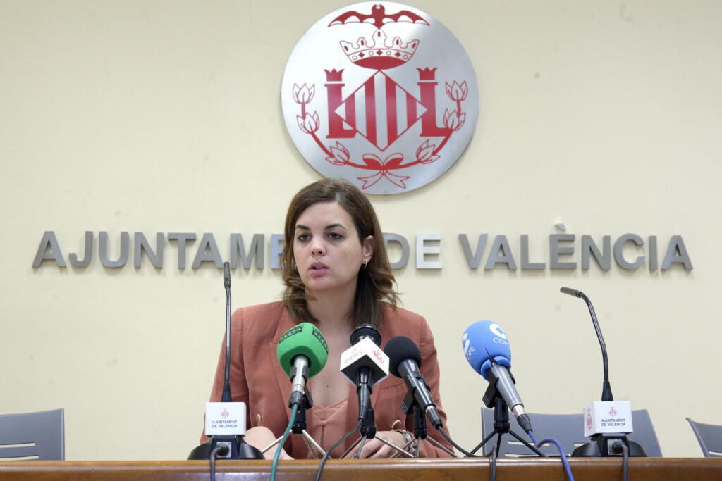 VALENCIA 2018-01-26 Roda de Premsa Junta Govern Local. Sandra Gómez