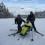 La Diputació de València promociona la pràctica de l'esquí adaptat per a persones amb diversitat funcional