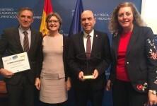 Alicante, ganador del Premio Ciudad Sostenible en la categoría de gestión del ciclo del agua.