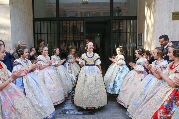 Daniela Gómez de los Ángeles Fallera Mayor Infantil de Valencia (1)