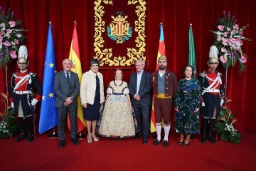Daniela Gómez de los Ángeles Fallera Mayor Infantil de Valencia (3)