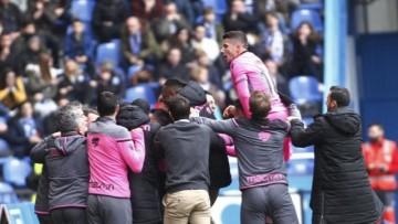 Depor Levante celebracion empate