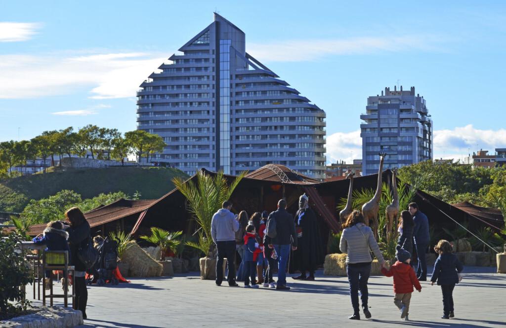 Diciembre 2017 - Poblado de las Jaimas BIOPARC Valencia