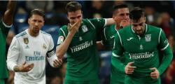 El Leganés hizo historia y eliminó al Real Madrid de la Copa del Rey Infobae